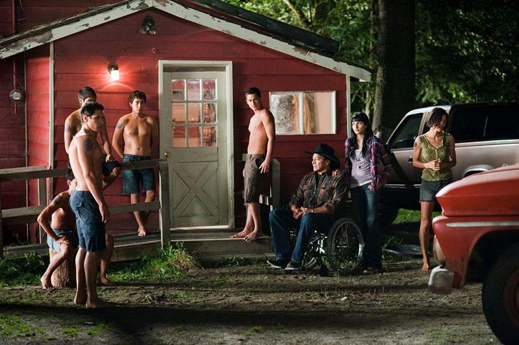 Stillbild ur The Twilight Saga: Eclipse, som är inspelad i Kanada.