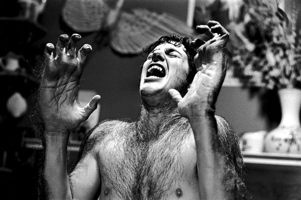 Varuvlven är ett av världens mest ikoniska skräckmonster. Bild från filmen An American Werewolf in London.
