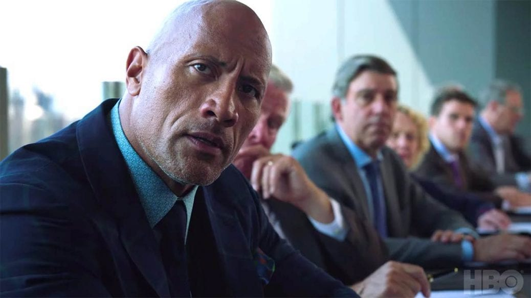 """Dwayne """"The Rock"""" Johnson i femte säsongen av """"Ballers""""."""