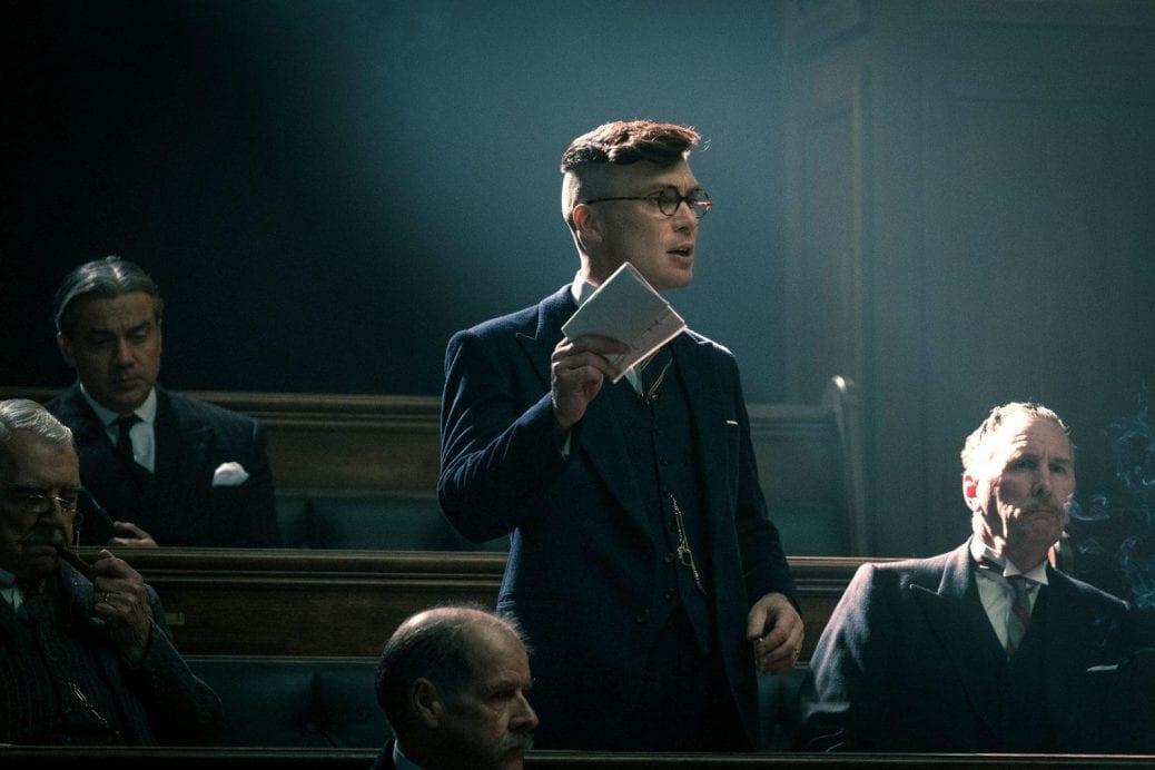 """Cillian Murphy som Thomas Shelby i """"Peaky Blinders""""."""