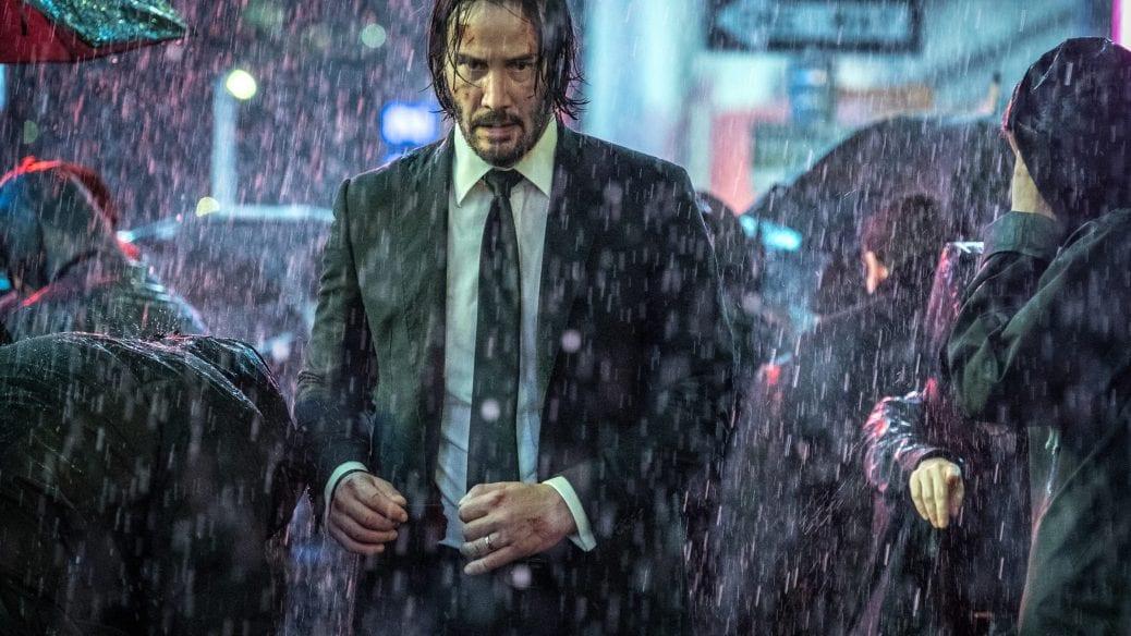 Keanu Reeves som John Wick