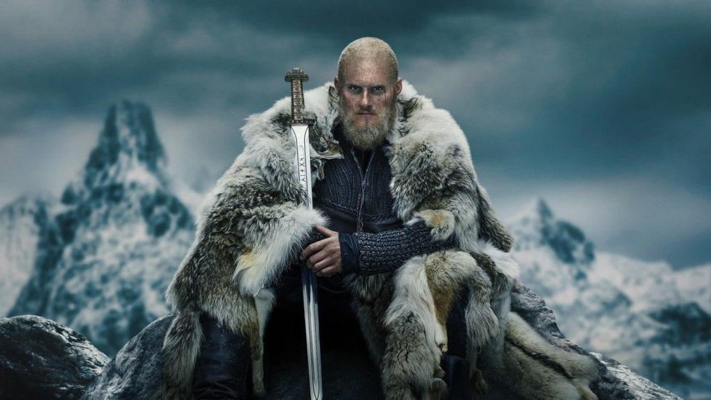 """""""Vikings"""" på HBO Nordic."""