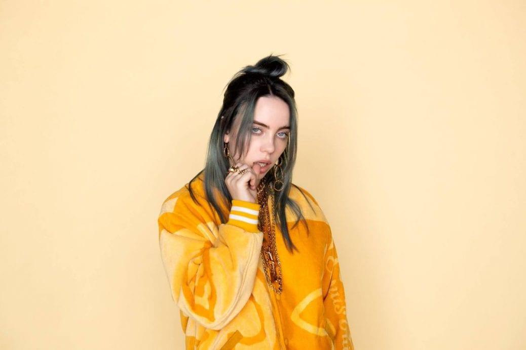 Artisten Billie Eilish.