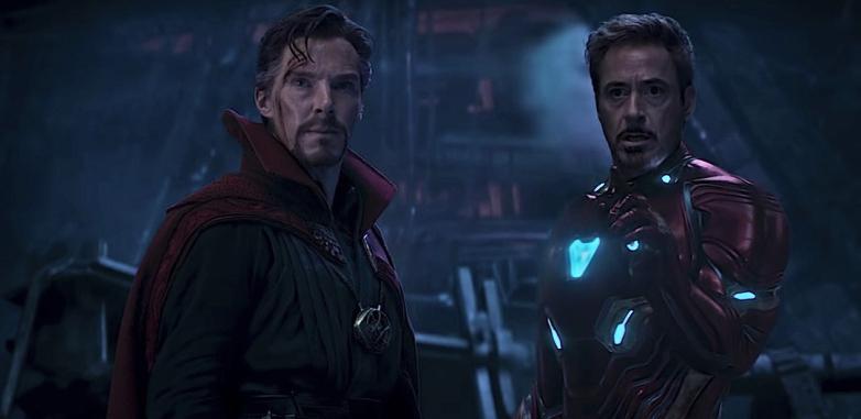 Bild från Avengers Endgame.