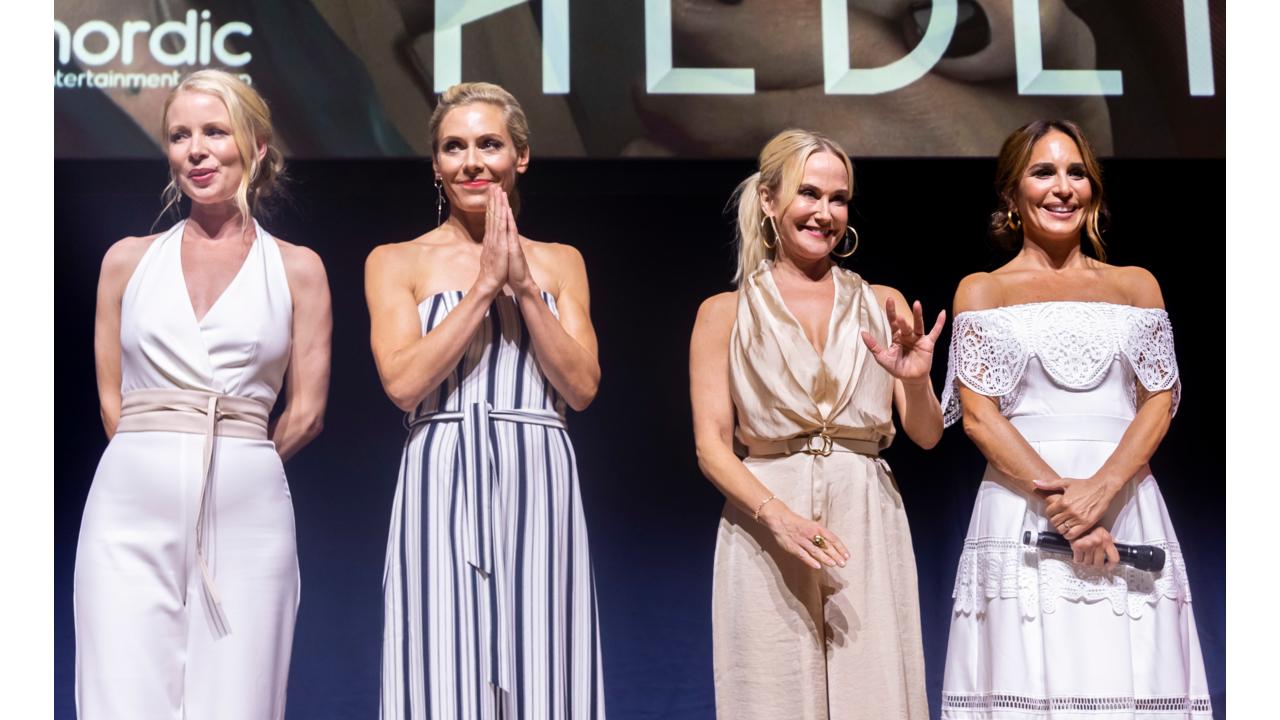 Julia Dufvenius, Eva Röse, Alexandra Rapaport, Anja Lundqvist