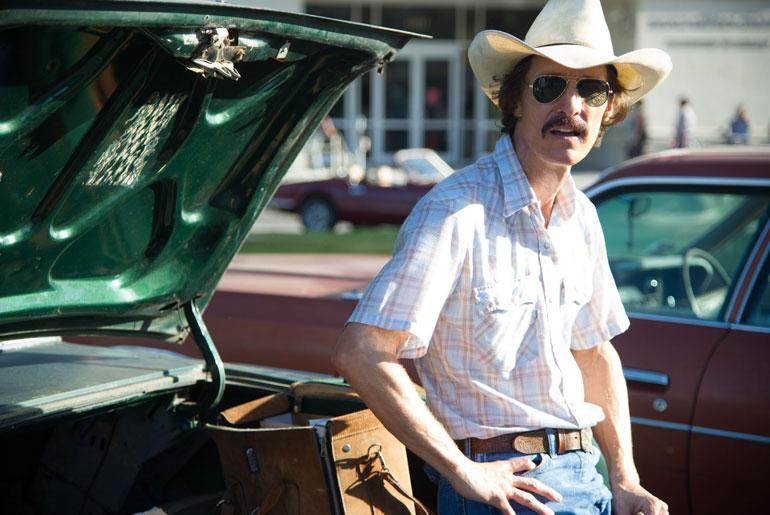 Matthew McConaughey i Dallas Buyers Club.