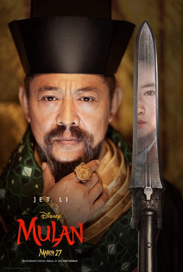 Poster till nya Mulan