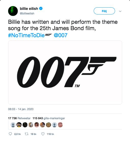 billie eilish twitter