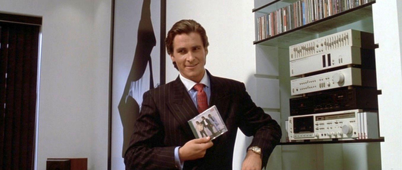 Christian Bale i American Psycho.