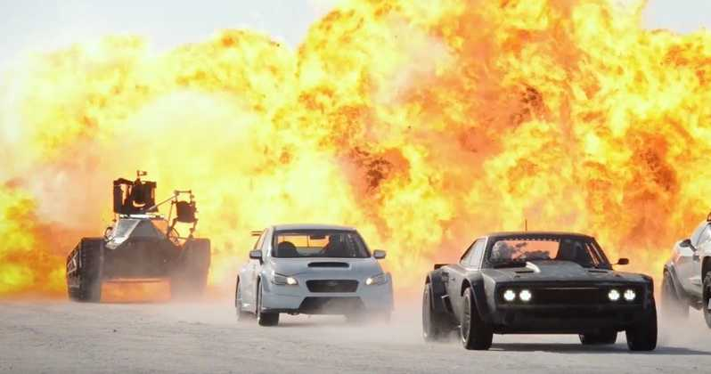 "Bild från ""Fate of the Furious""."