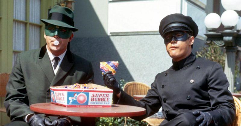 """Bruce Lee i """"Green Hornet""""-serien."""