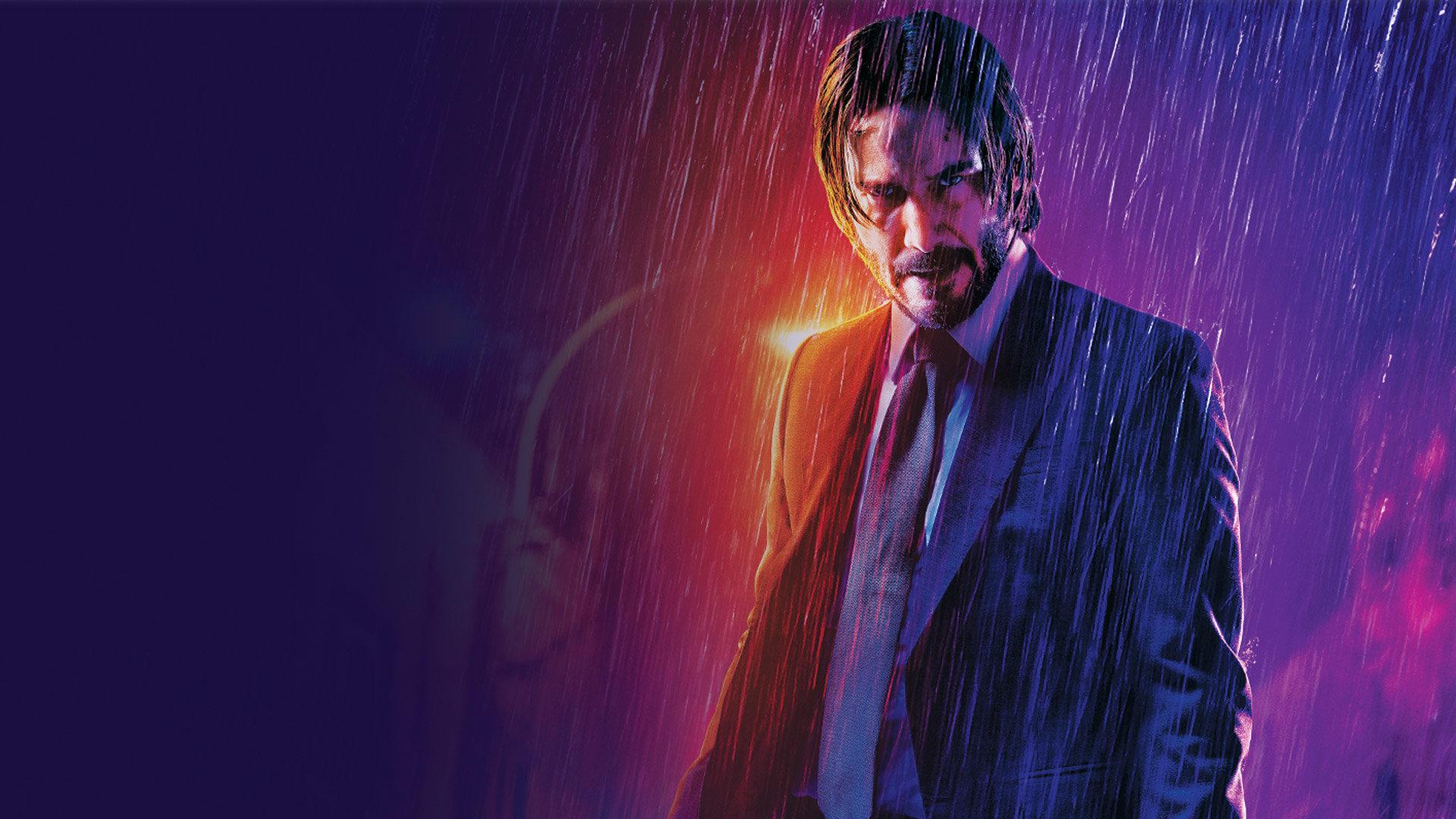 stillbild ur John Wick 3 med Keanu Reeves.