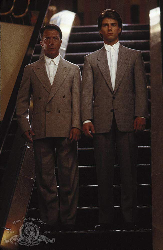 Dustin Hoffman och Tom Cruise i Rain Man.