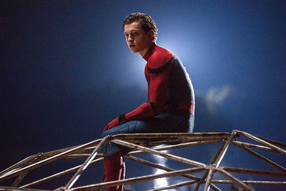 Tom Holland som Spider-Man