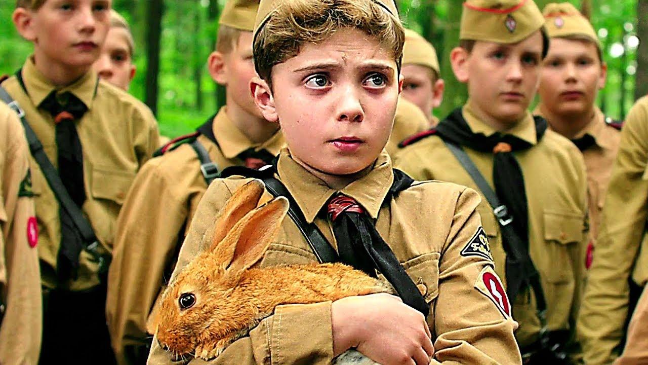 Roman Griffin Davis som Jojo i Jojo Rabbit.
