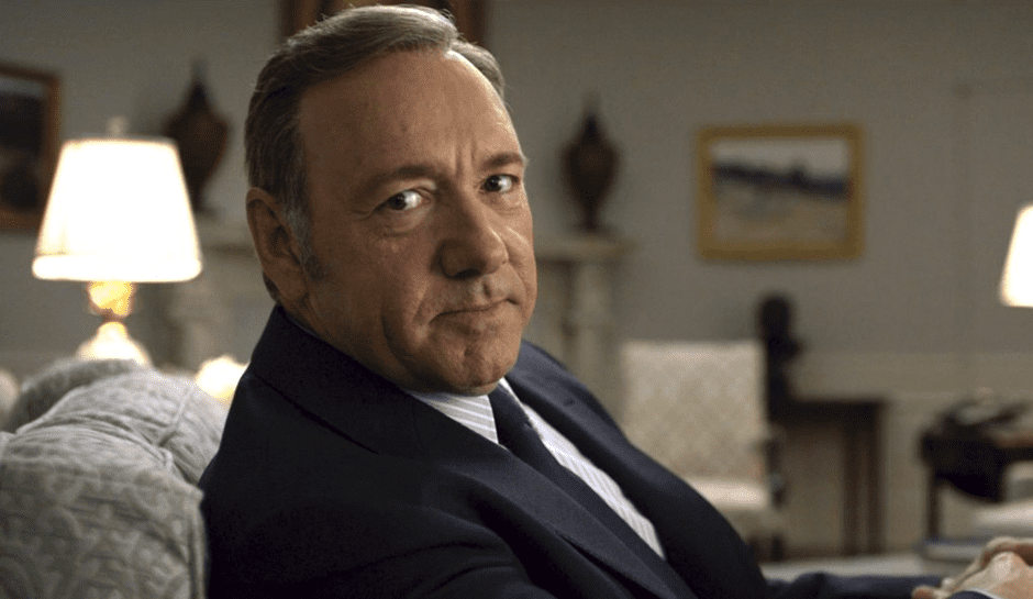 Spacey i House of Cards
