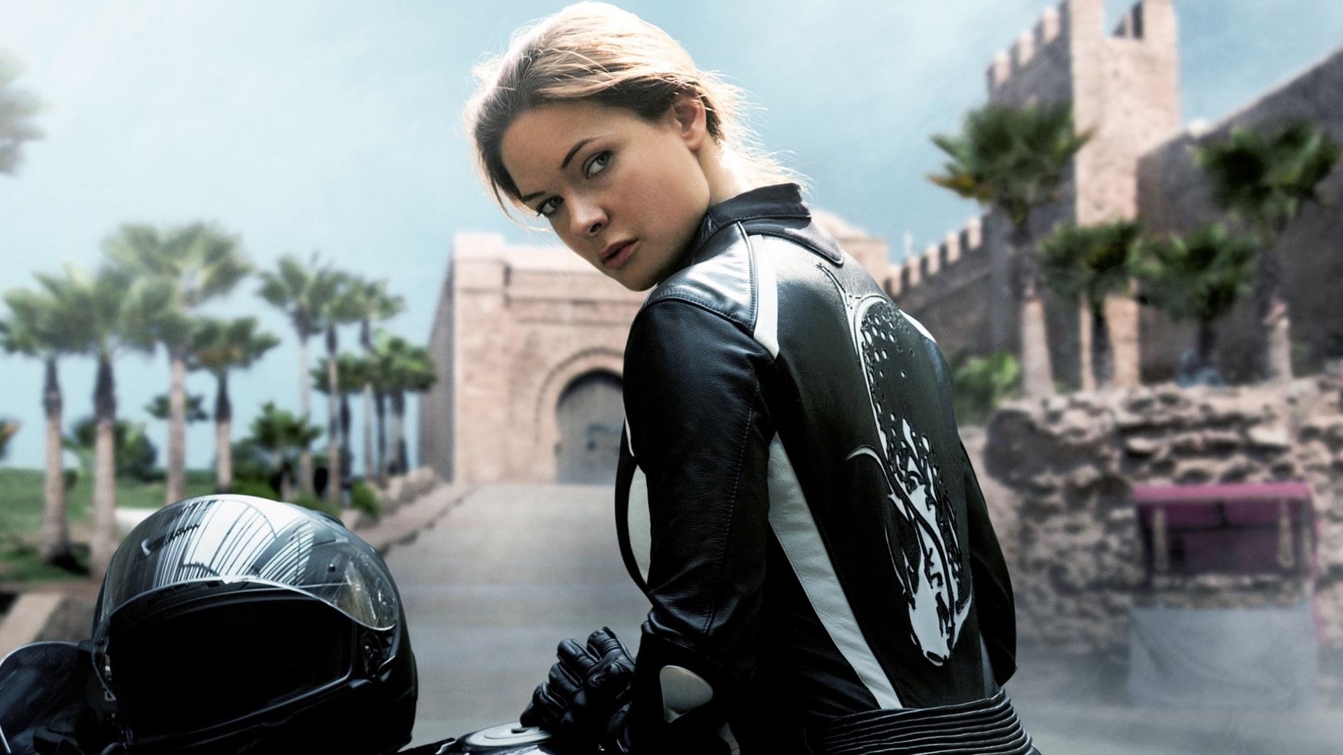 Rebecca Ferguson i Mission Impossible.