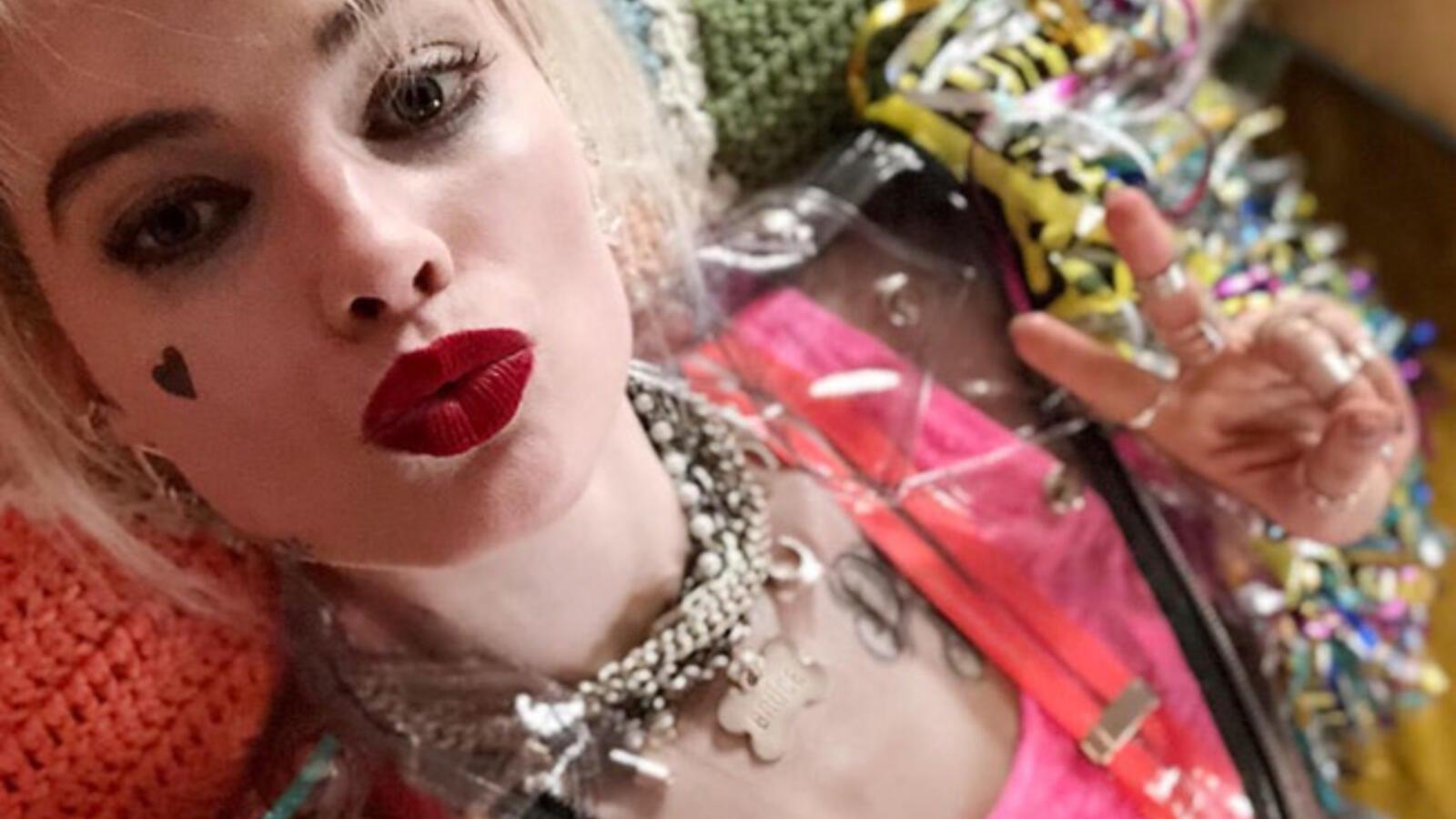 Margot Robbie som Harley Quinn i Birds of Prey.
