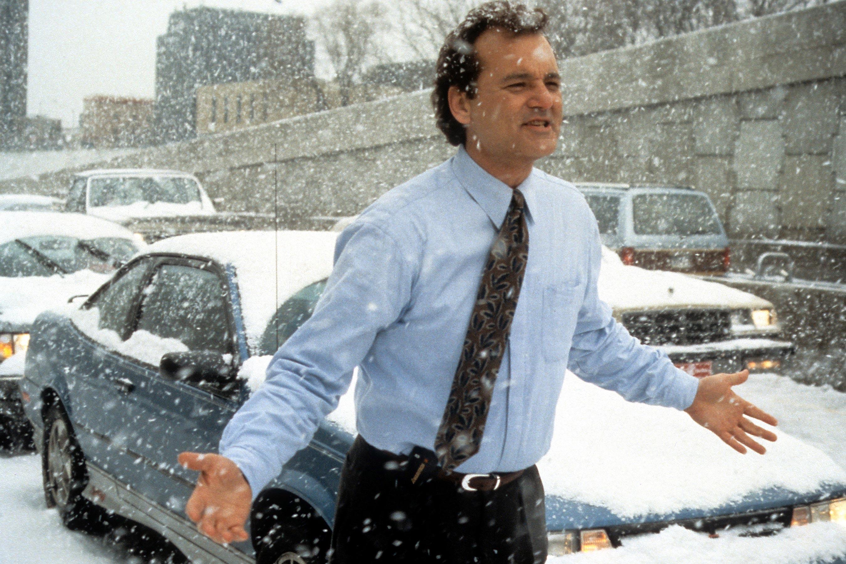 Bill Murray i Groundhog Day