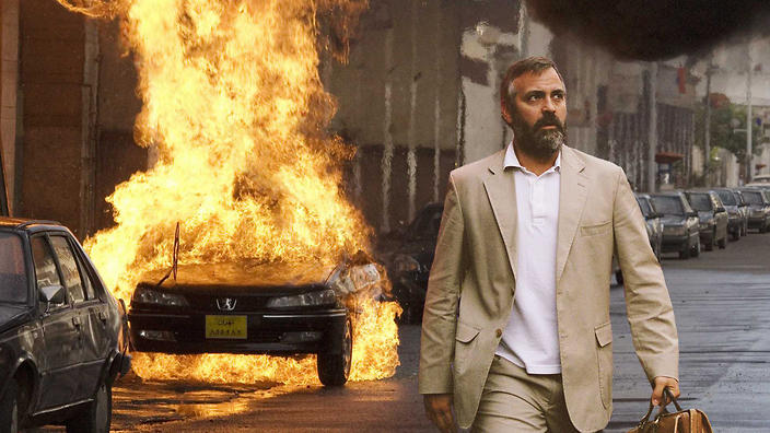 "George Clooney i ""Syriana"" (2006)."