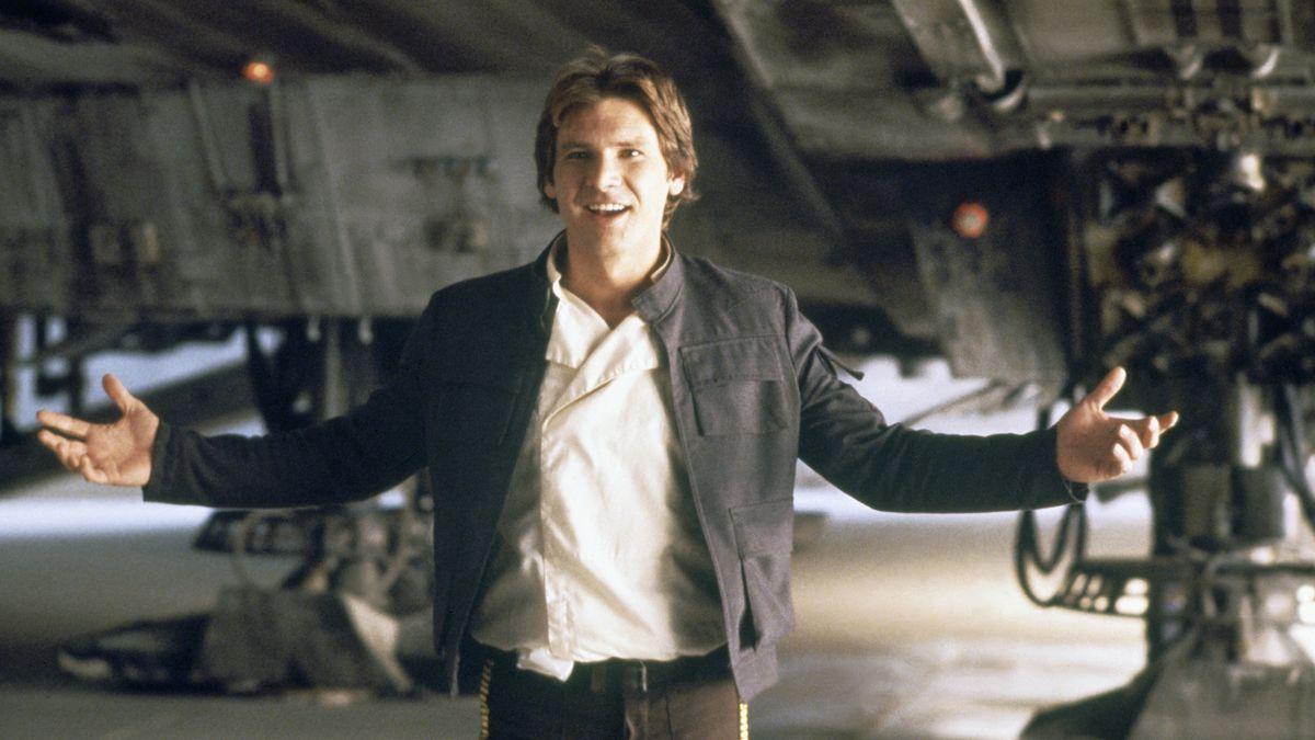 """Han Solo i """"Rymdimperiet slår tillbaka""""."""