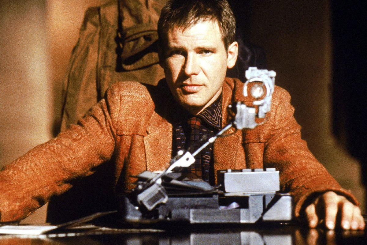 """Harrison Ford i """"Blade Runner""""."""
