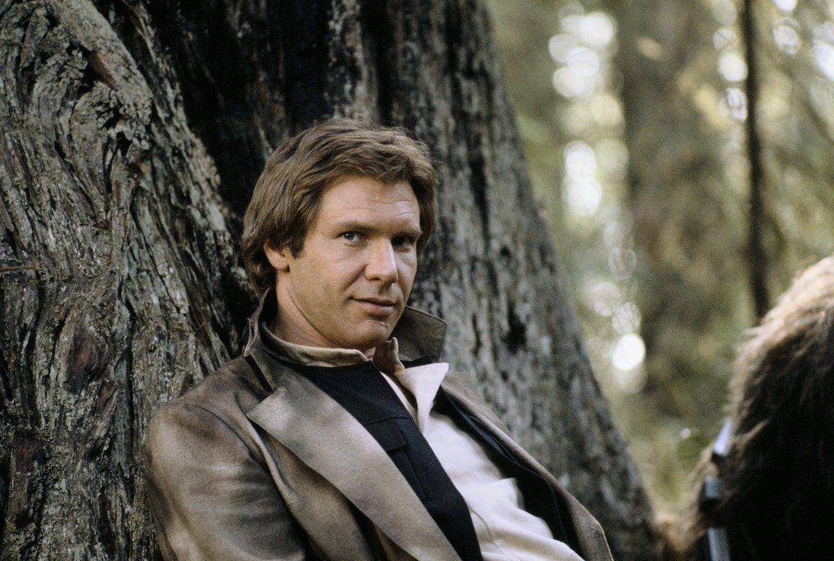 """Han Solo i """"Jedins återkomst""""."""
