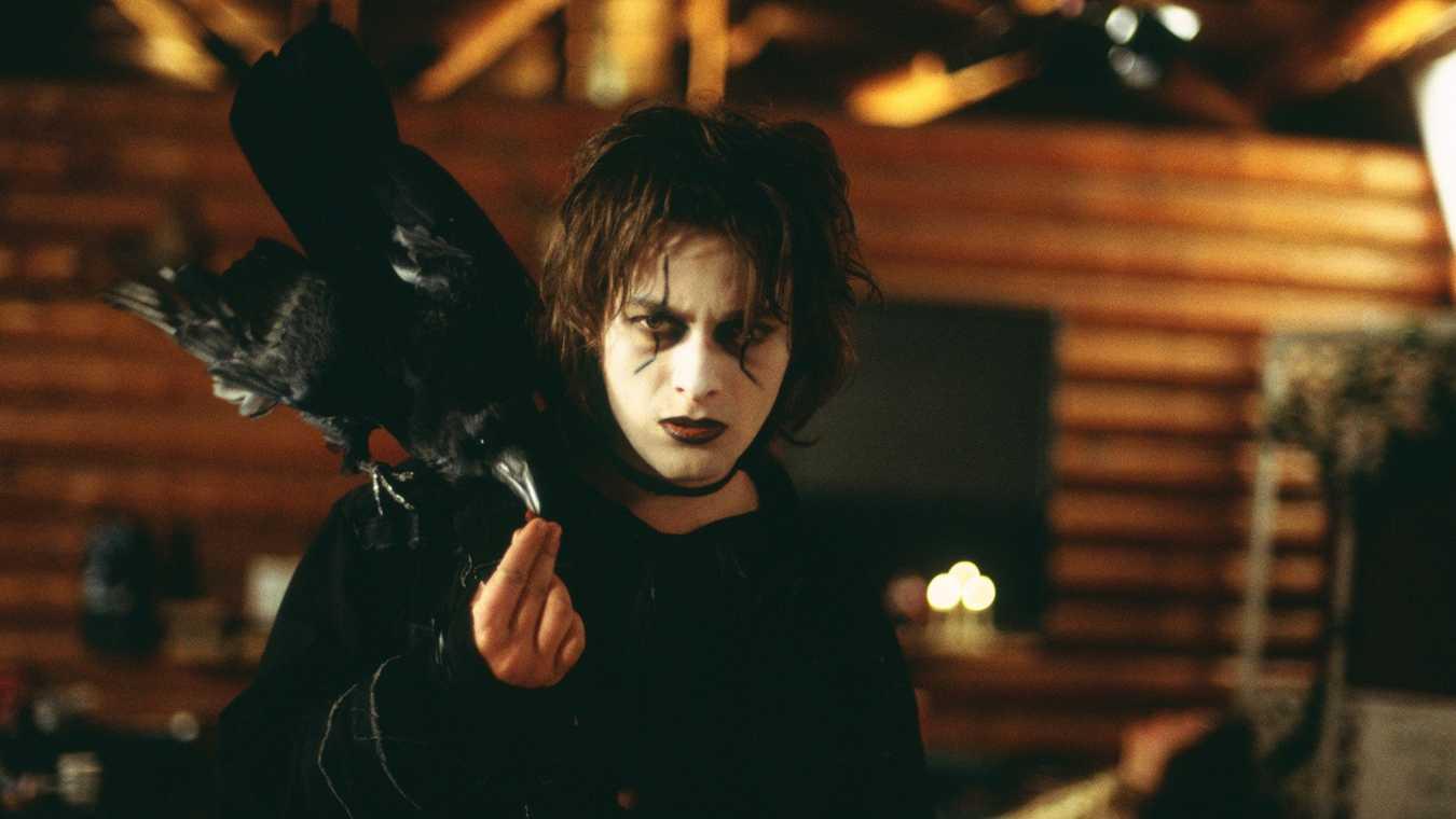 """Edward Furlong i """"The Crow: Wicked Prayer""""."""