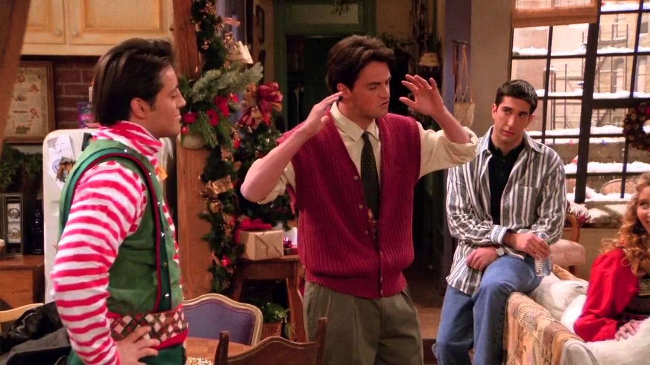Joeys kläder blir för mycket för Chandler.
