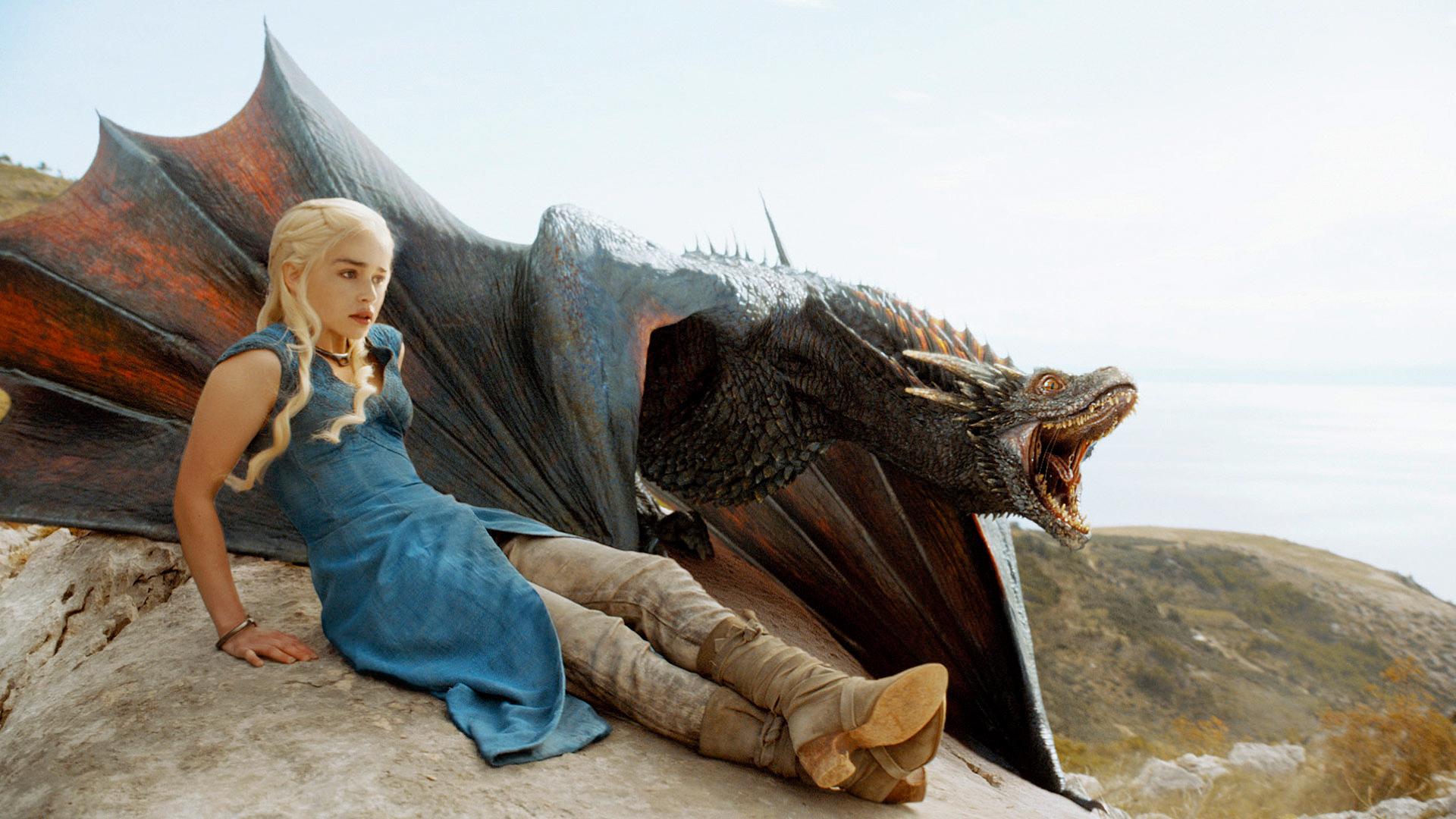 Daenerys Targaryen i Game of Thrones serien.