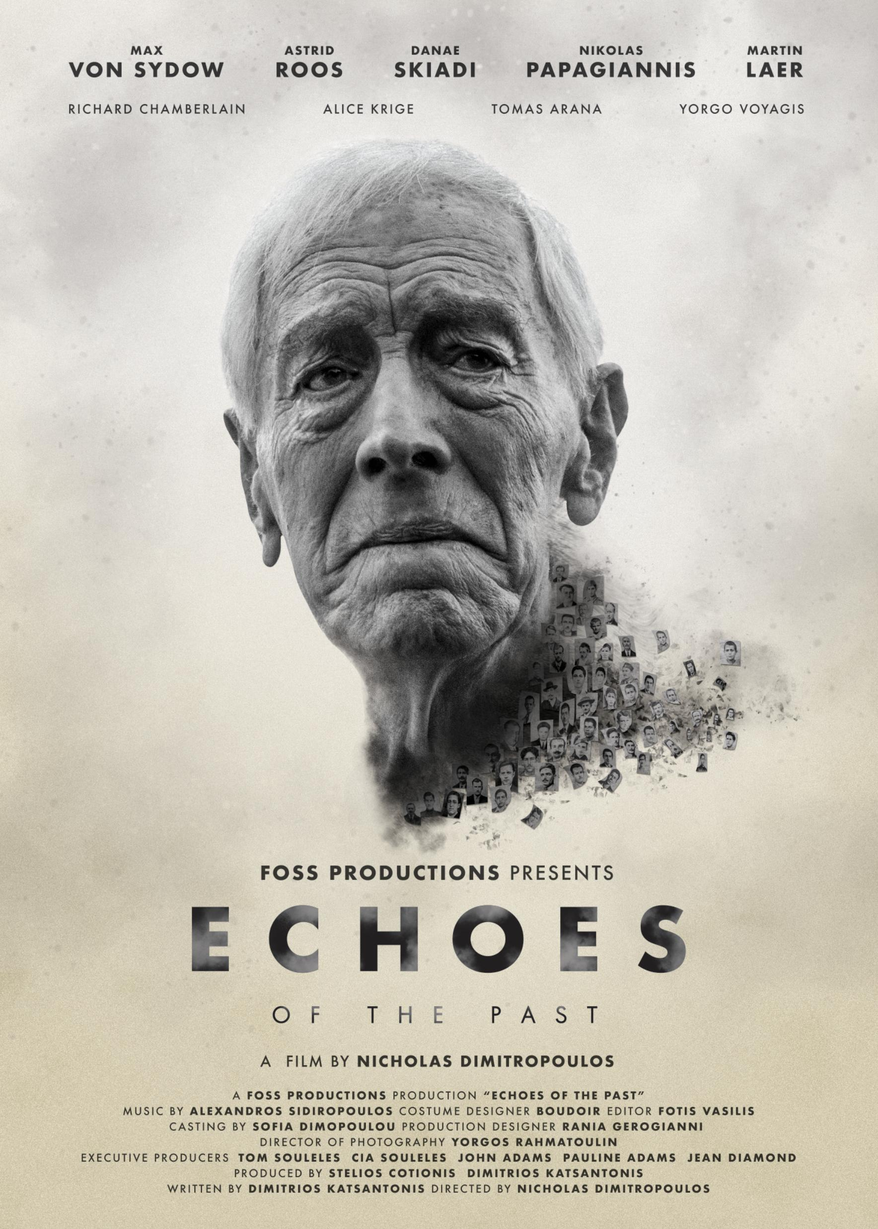 """Max von Sydow på postern till """"Echoes of the Past""""."""