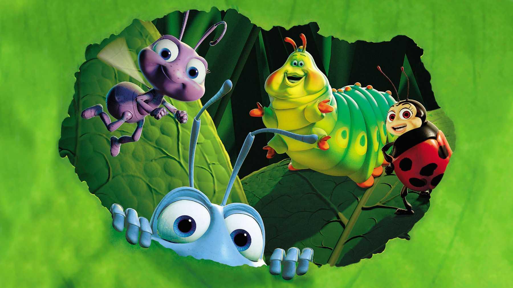 """Stillbild ur Disney och Pixars klassiker """"Ett småkryps liv""""."""