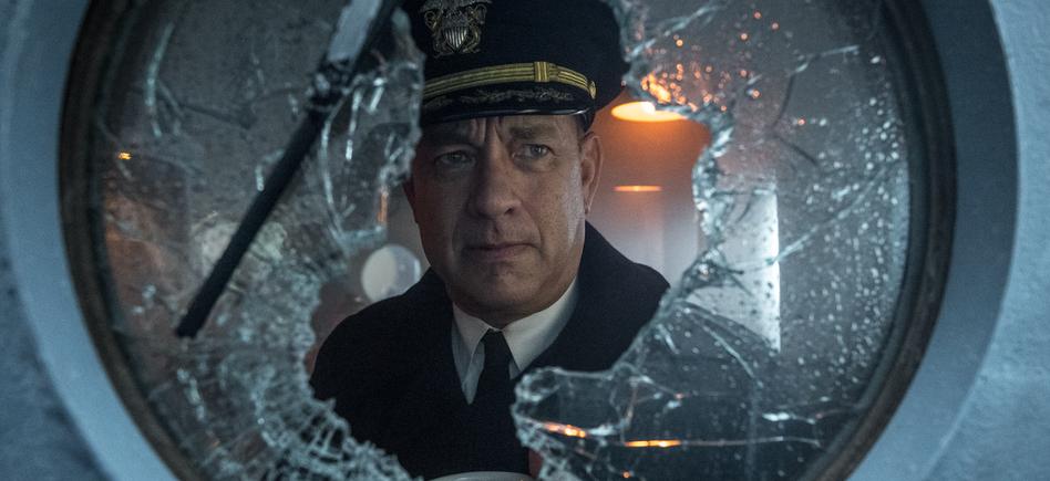 """Tom Hanks i """"Greyhound""""."""