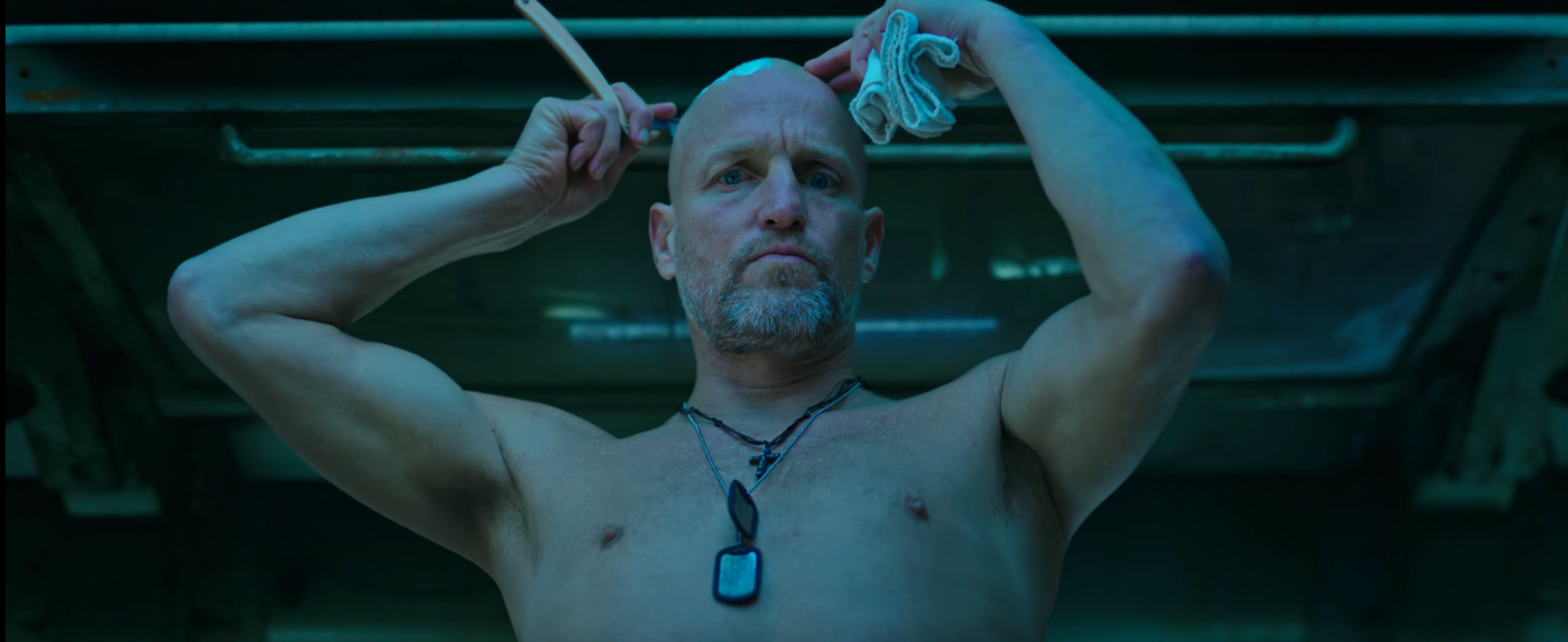 "Woody Harrelson i ""Apornas planet: Striden"""