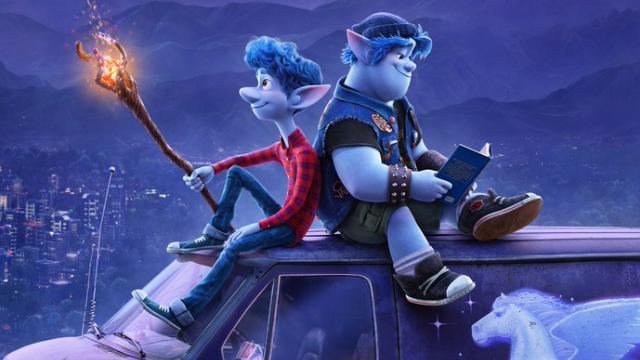 """Stillbild ur Pixars """"Framåt""""."""