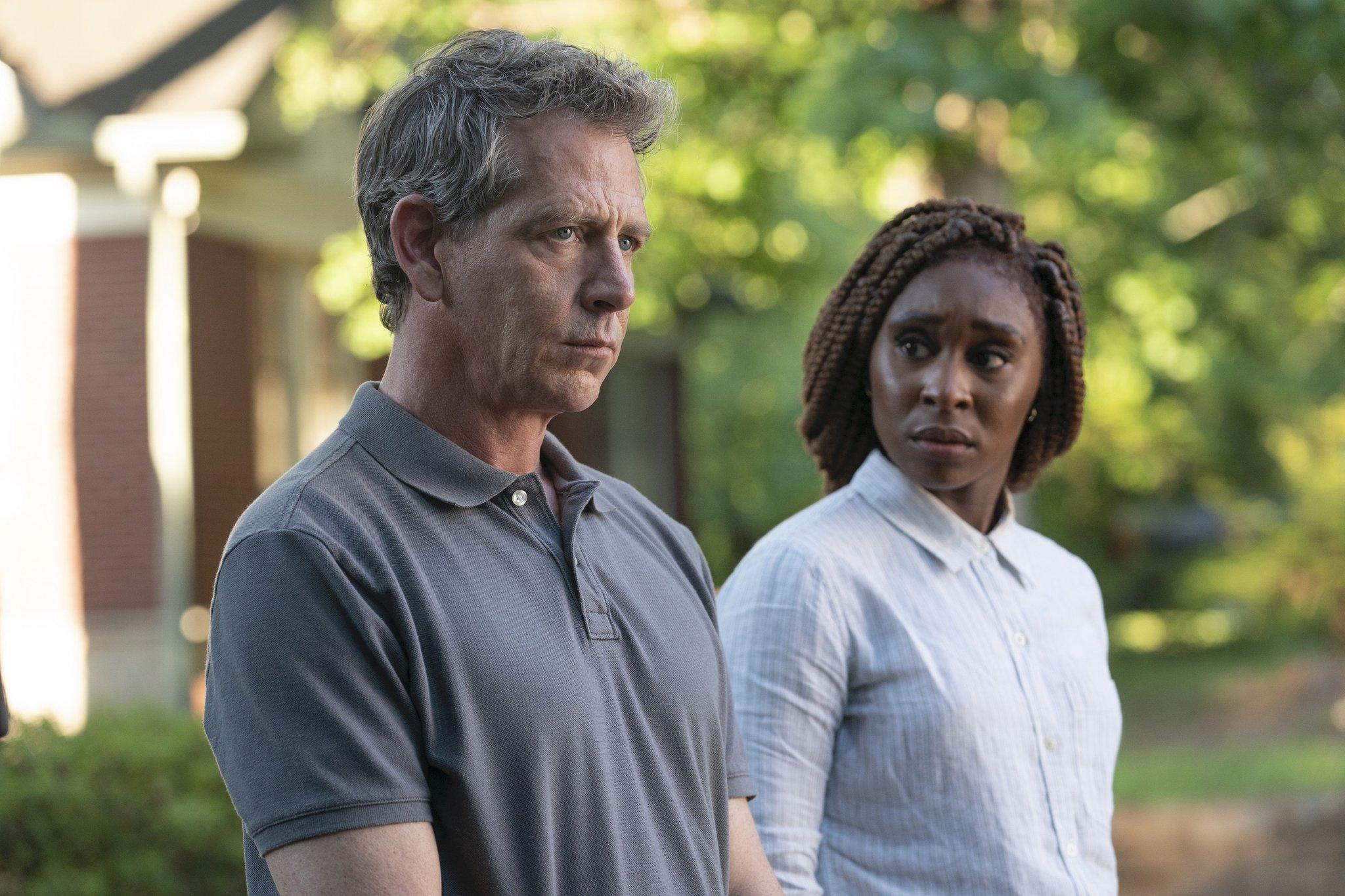 """Stillbild ur """"The Outsider"""" på HBO."""