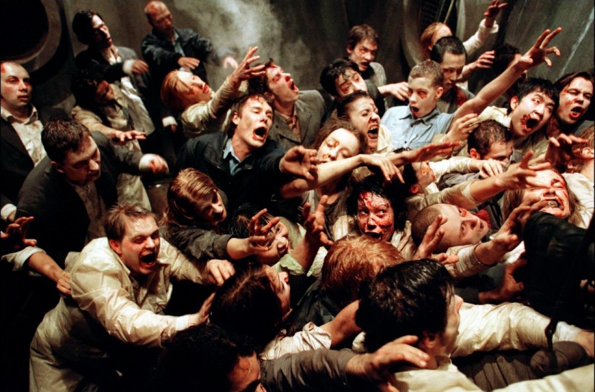 Zombies i Resident evil