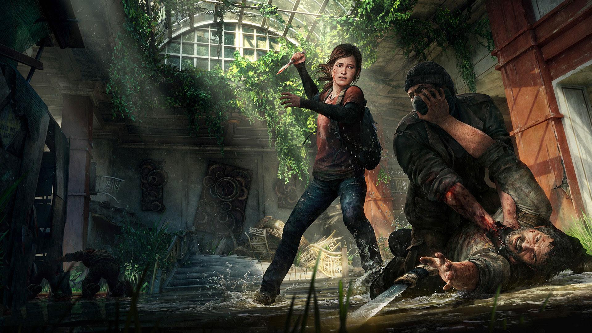 Stillbild ur The Last of Us.