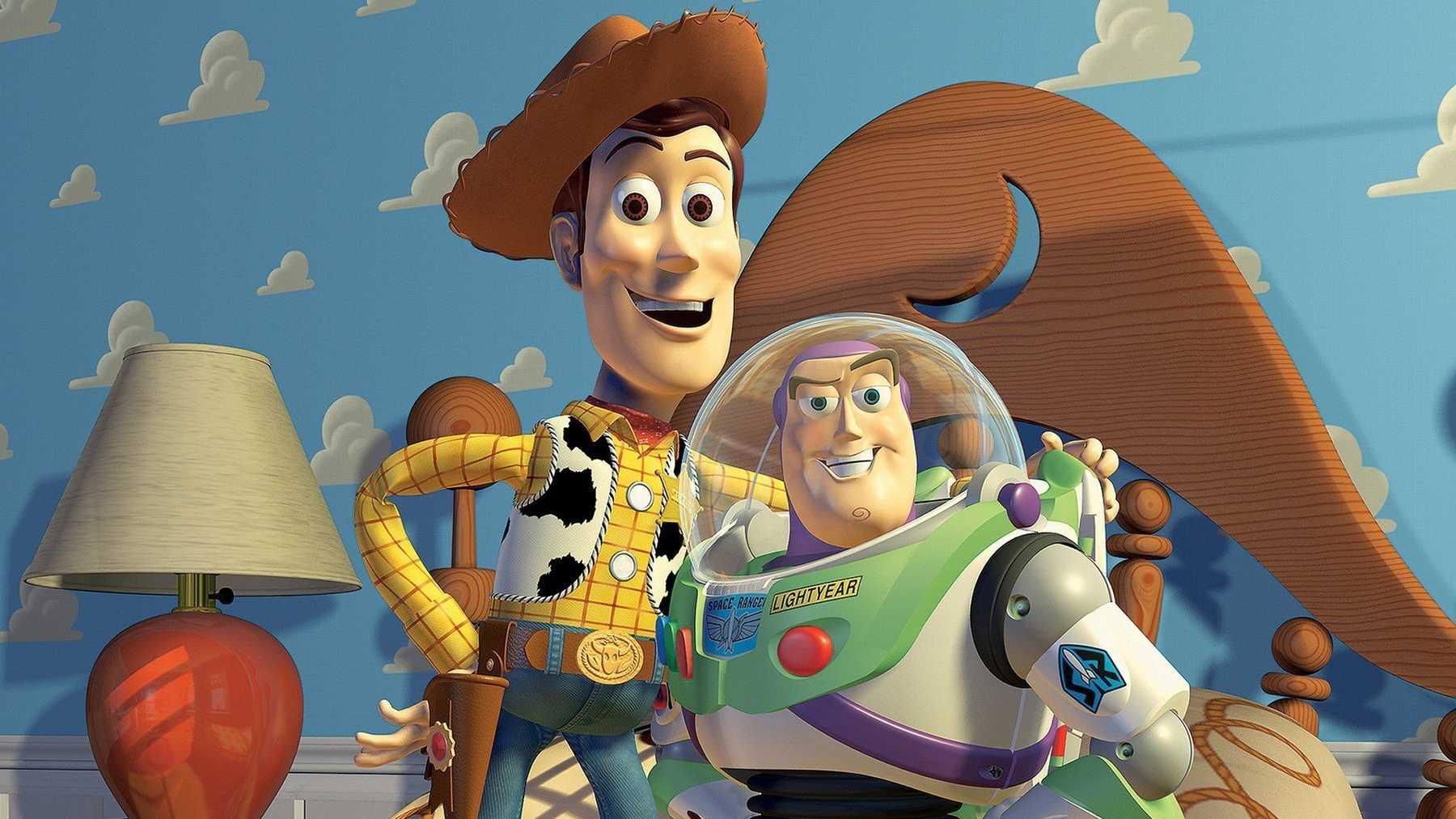 """Bild ur Disney och Pixars odödliga klassiker """"Toy Story""""."""