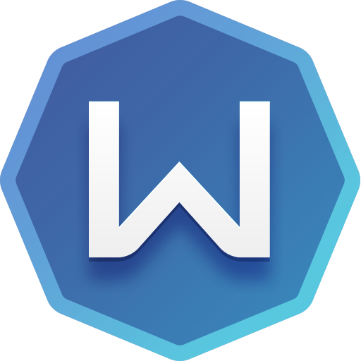 Windscribe logotyp.