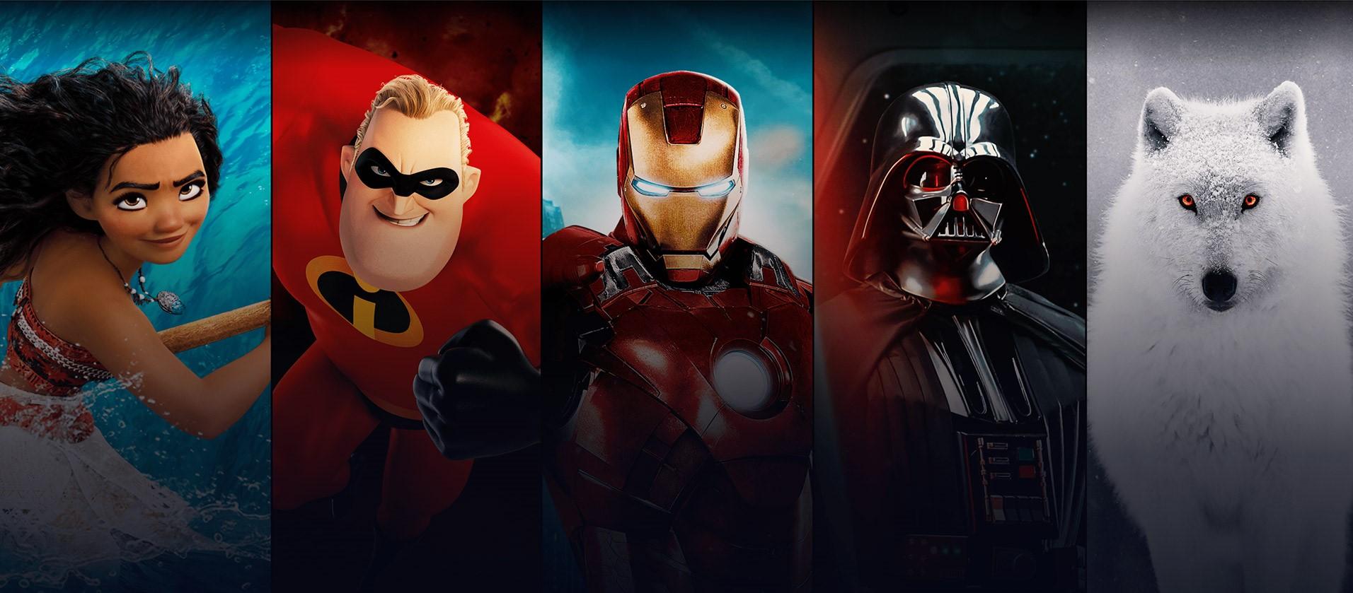 Disney+ serier – fem bra nyheter att streama i höst