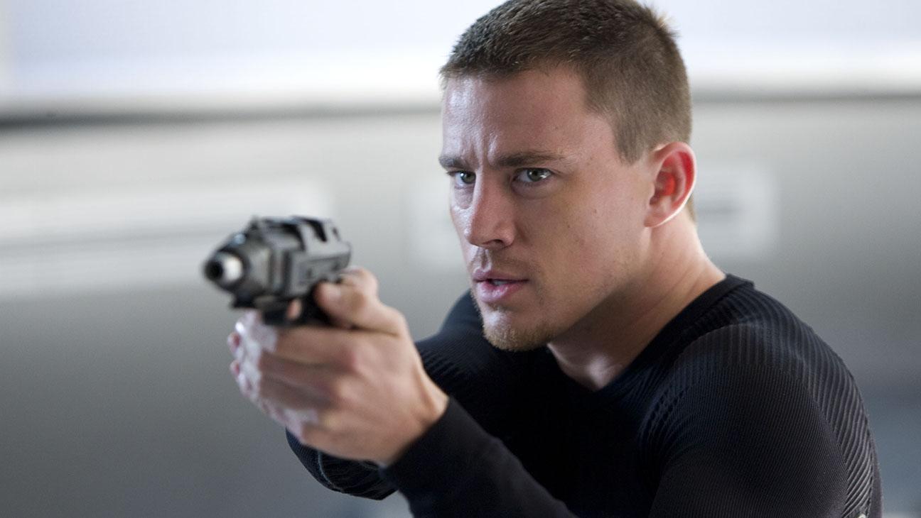 Channing Tatum i G.I. Joe: The Rise of Cobra.