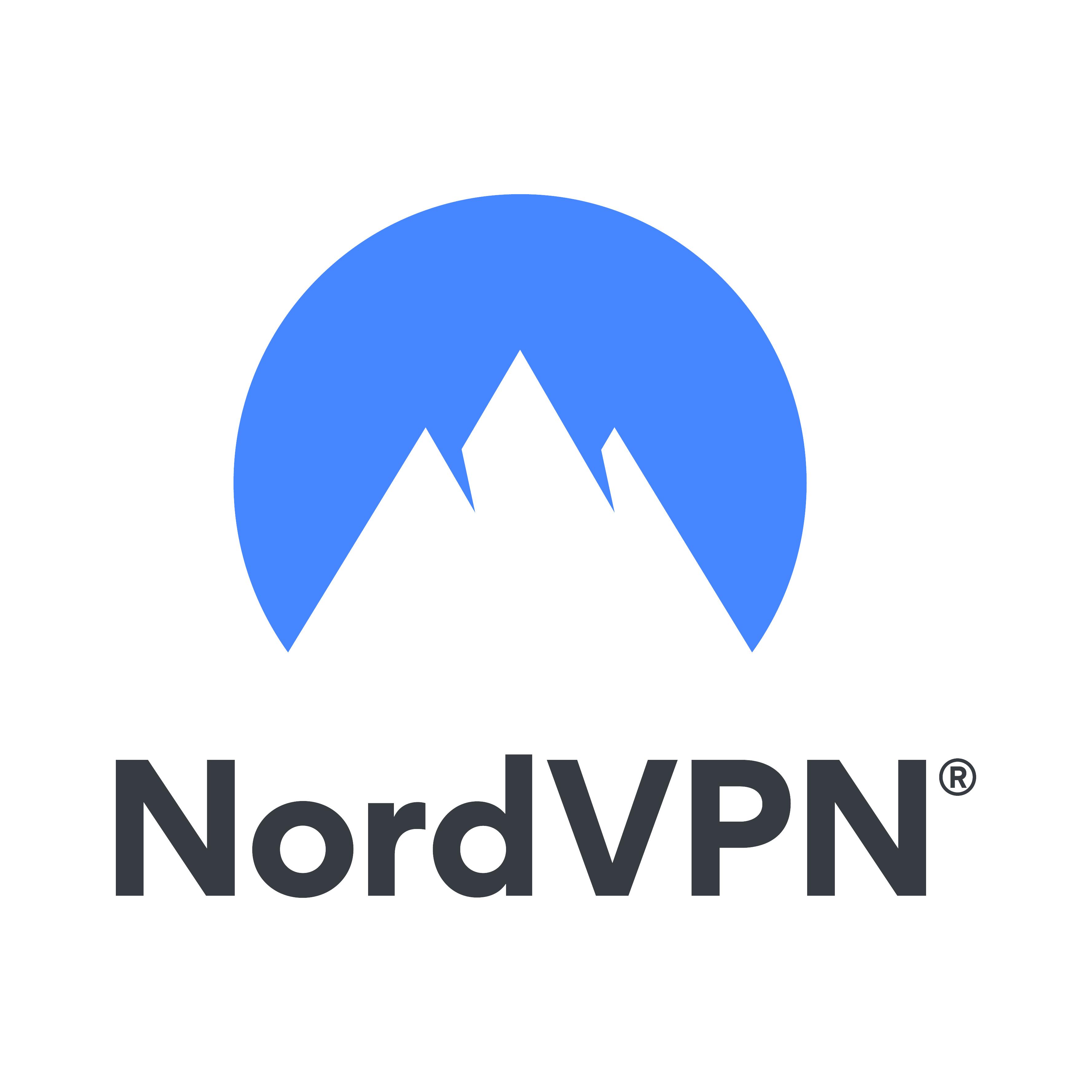 NordVPN:s logotyp.