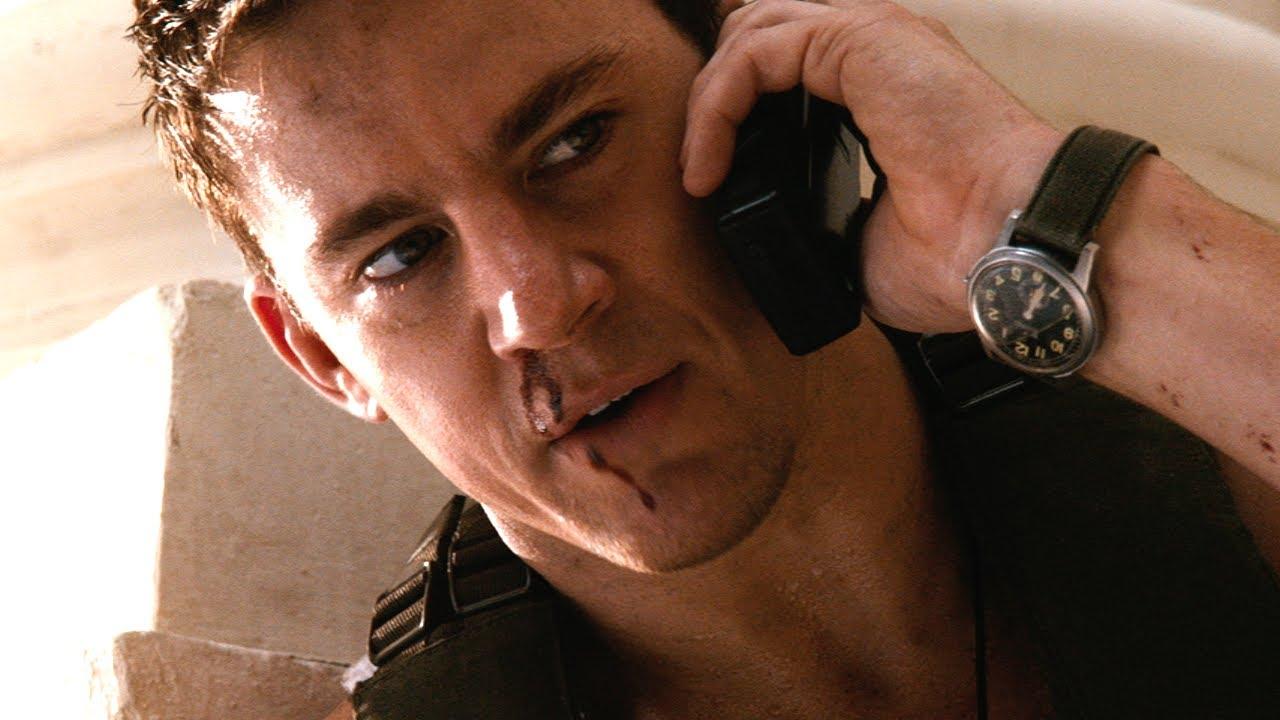 Channing Tatum i White House Down.