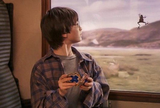 chokladgrodan i Harry Potter