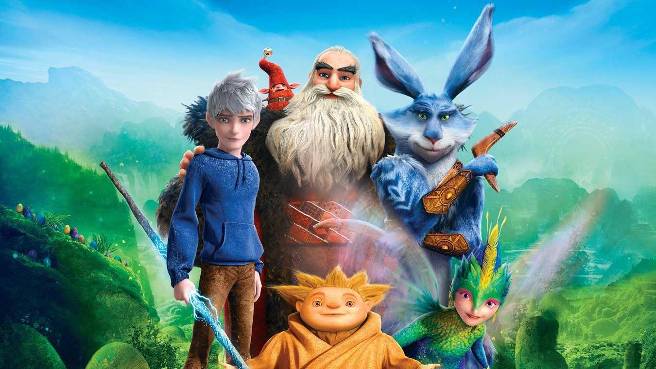 Stillbild ur De fem legendarerna – en av påskfilmer som samlar hela familjen