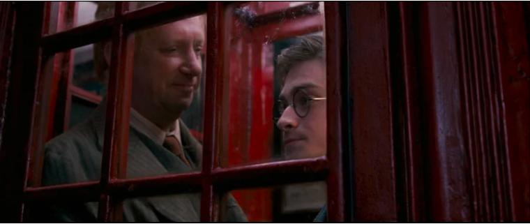 Magiska telefonbåset i Harry Potter