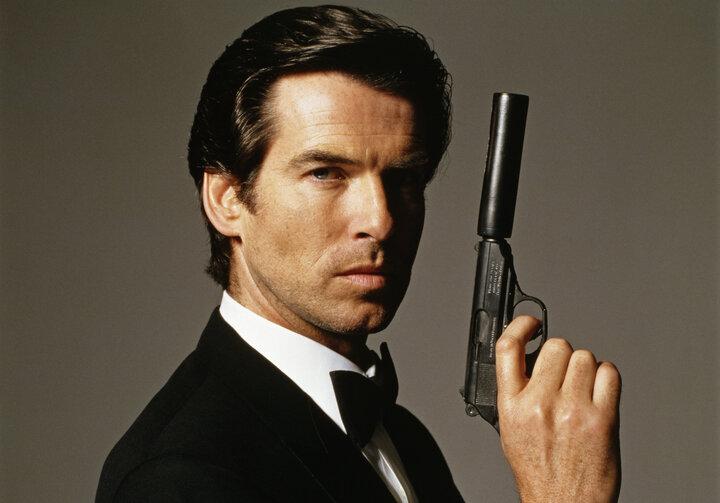 Pierce Brosnan som James Bond.