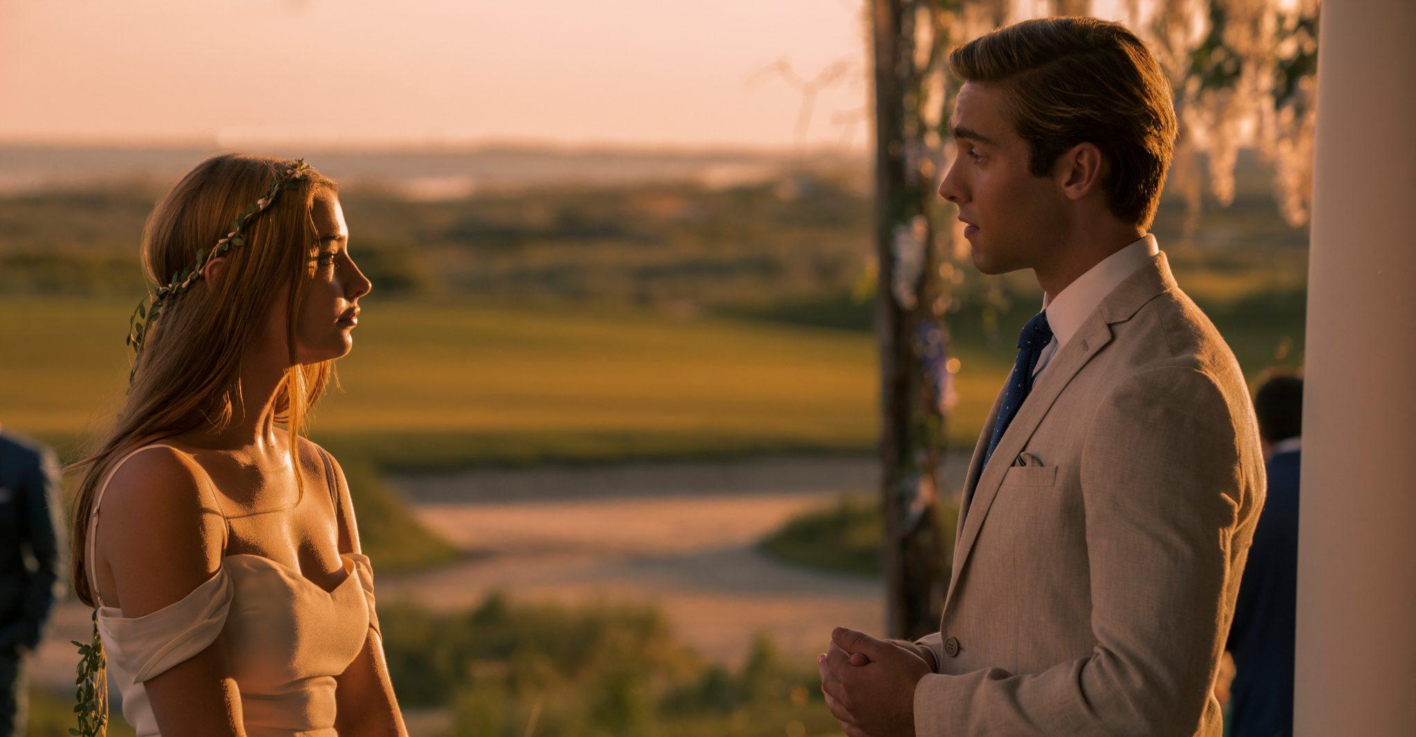 Stillbild ur Outer Banks på Netflix.