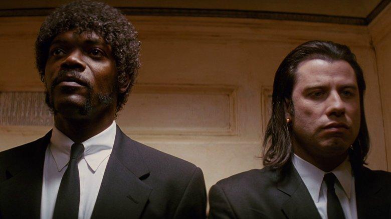 """Samuel L. Jackson och John Travolta i """"Pulp Fiction""""."""